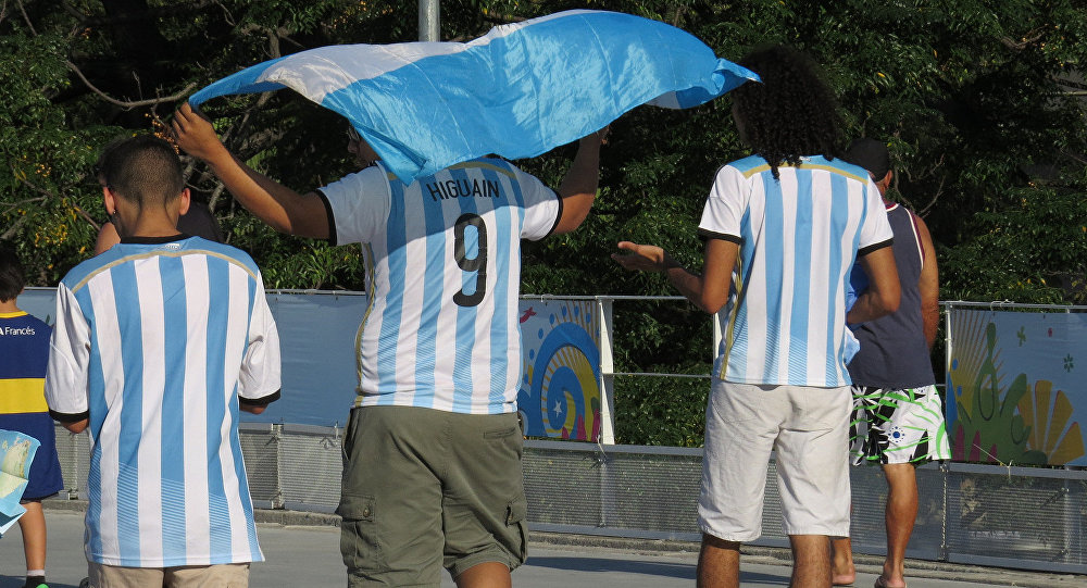 Expulsan del Mundial a fan argentino que protagonizó episodio sexista