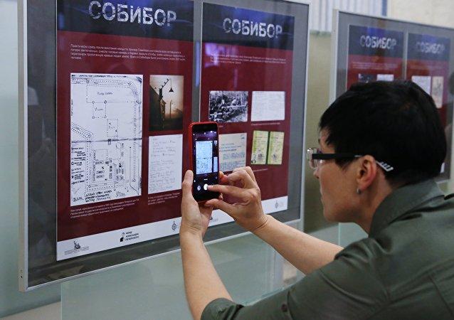 Una exposición en el Museo de la Victoria de Moscú (archivo)