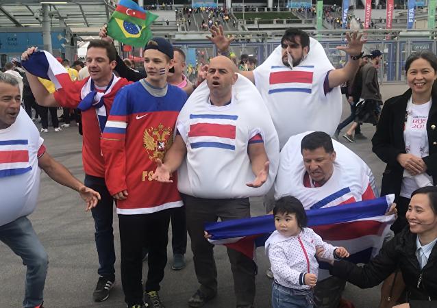 Aficionados de Costa Rica