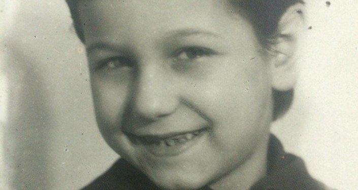 Tatiana  Moiséienko en su infancia