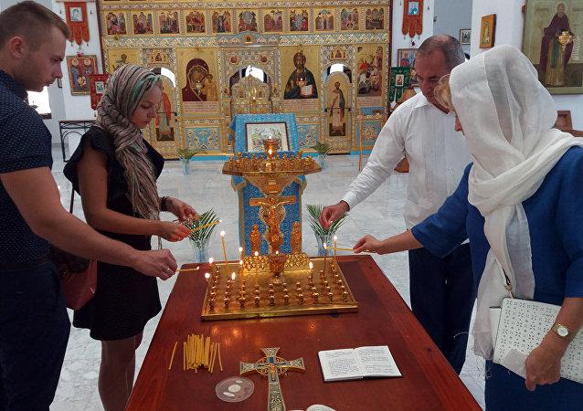 Rusos y cubanos recuerdan en La Habana Día de la Memoria y Luto