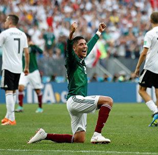 El partido entre México y Alemania