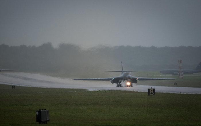 La base aérea de EEUU en Ellsworth, ilustrativa