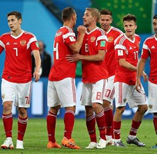 La selección rusa