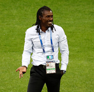 El entrenador de Senegal, Aliou Cisse