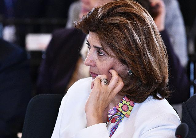 María Ángela Holguín, ministra de Exteriores de Colombia