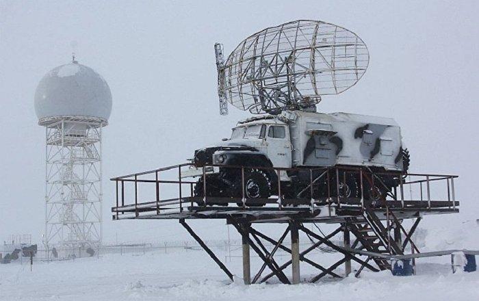 Radar móvil en la Tierra de Francisco José