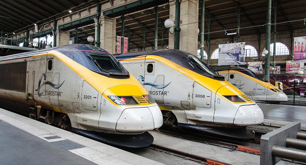 Los trenes de Eurostar