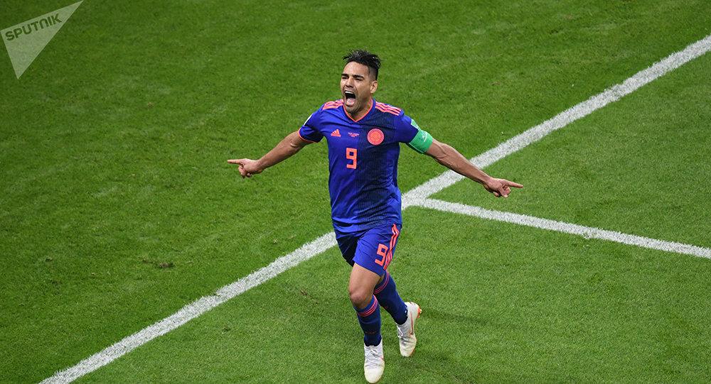 Radamel Falcao, capitán de la selección colombiana