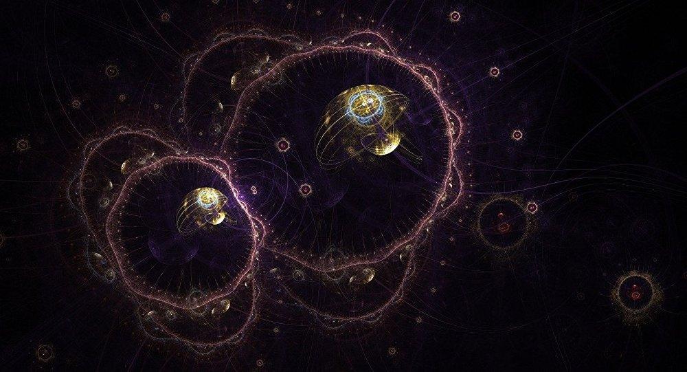 Un virus (imagen referencial)