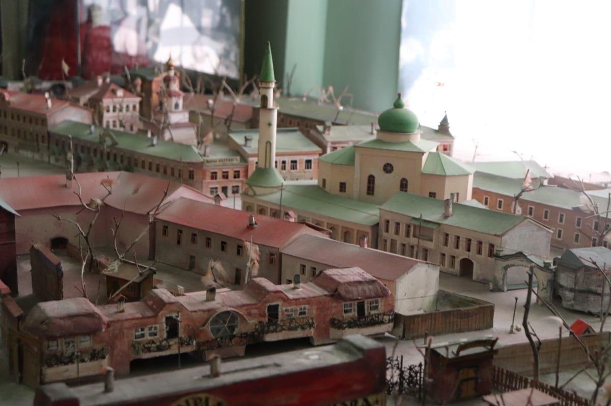 Maqueta de la ciudad de Kazán