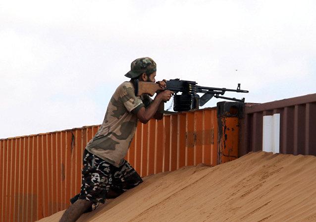Militar libio (imagen referencial)