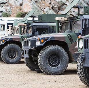 Vehículos militares de EEUU (imagen referencial)