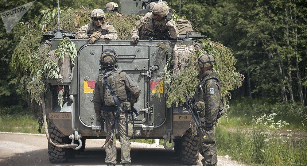 Militares de Estonia (archivo)