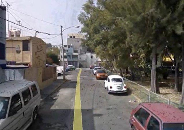 ¿Google Earth capta un ovni sobre México?