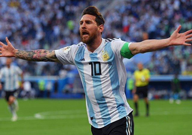 Lionel Messi, jugador argentino