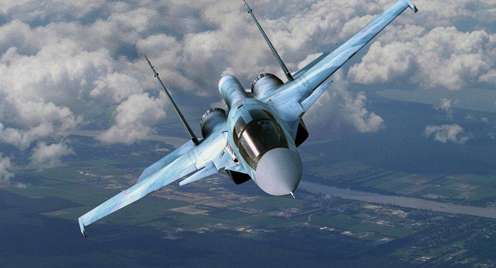 Caza Su-34 ruso
