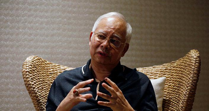 Najib Razak, ex primer ministro de Malasia