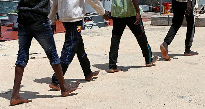 Migrantes (imagen referencial)