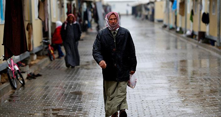 Un refugiado sirio en Turquía