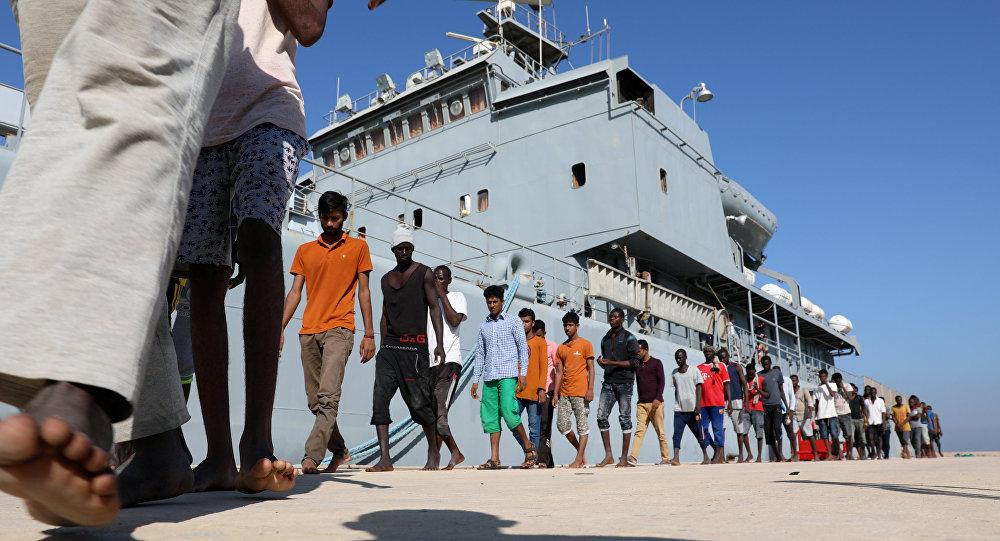 Migrantes africanos (archivo)