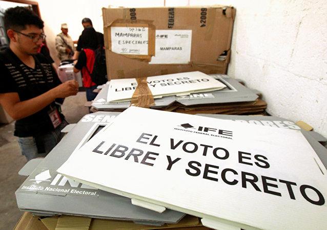 Preparación para las elecciones en México