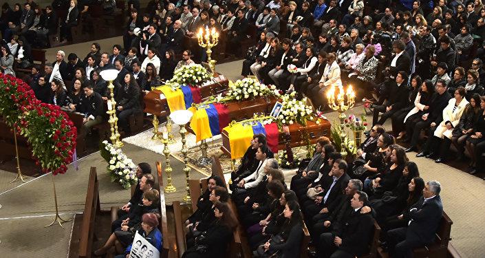 Una misa en homenaje a periodistas asesinados