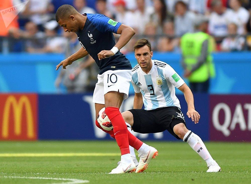 El partido Francia-Argentina