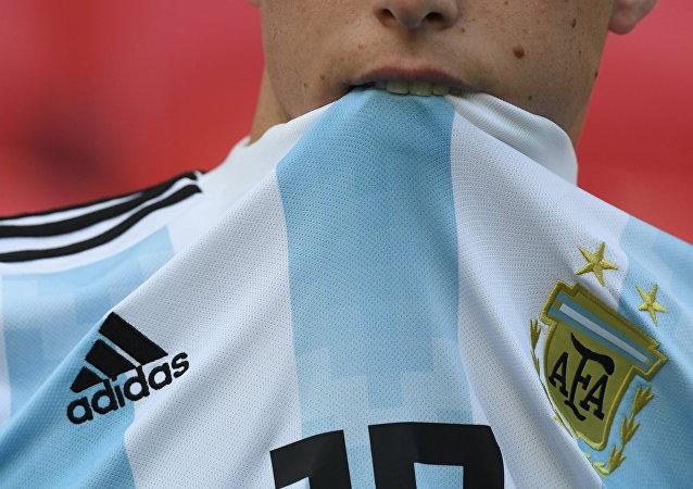 Hincha de Argentina (imagen referencial)