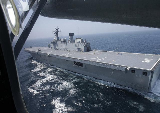 Un buque de guerra surcoreano (archivo)