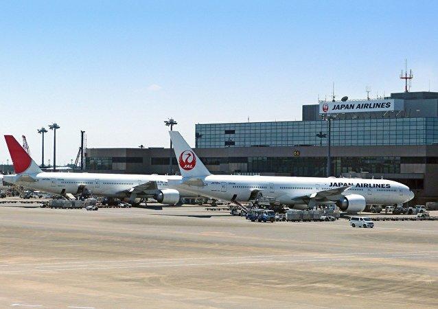 Un avión de Japan Airlines