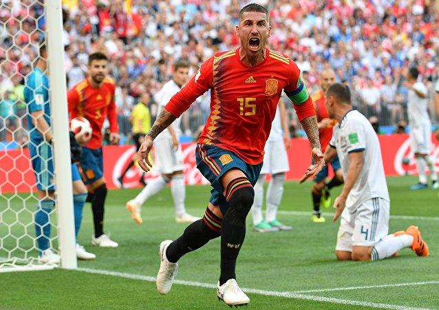 Sergio Ramos, futbolista español