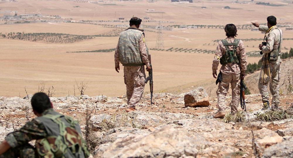 Los combatientes del consejo militar de Manbij (archivo)