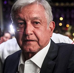 Retrato de AMLO, próximo presidente de México