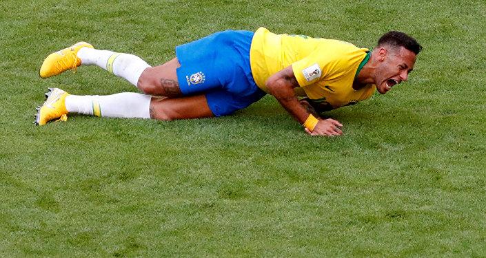 Neymar da Silva Santos, futbolista brasileño
