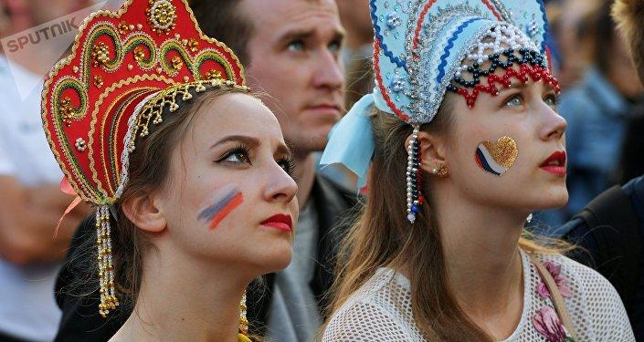Las aficionadas rusas