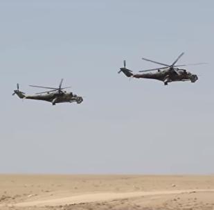 Los militares de Rusia muestran sus habilidades en las montañas de Tayikistán