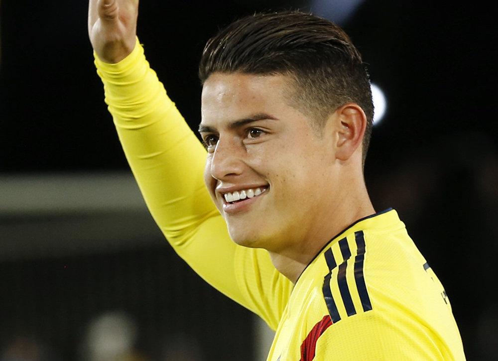 James Rodríguez, futbolista colombiano