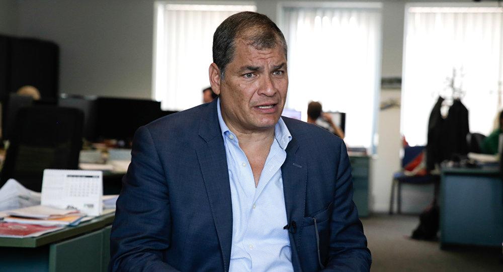 Rafael Correa, expresdente de Ecuador