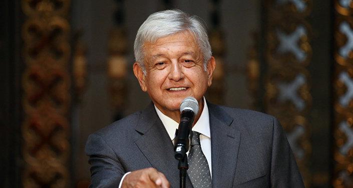 Andrés Manuel López Obrador, presidente electo de México