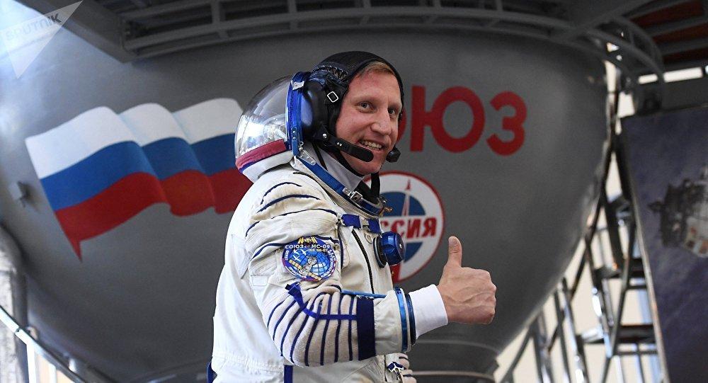 Un cosmonauta ruso