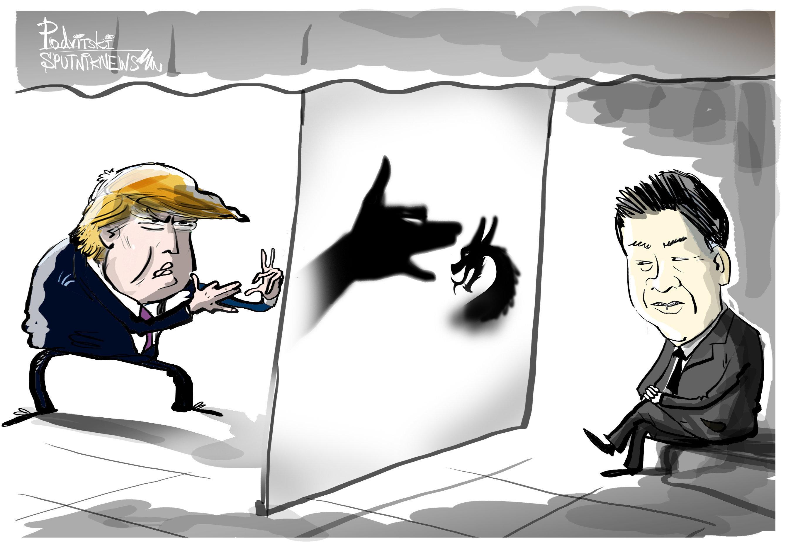 EEUU recurre a 'trucos psicológicos' para aterrorizar a China