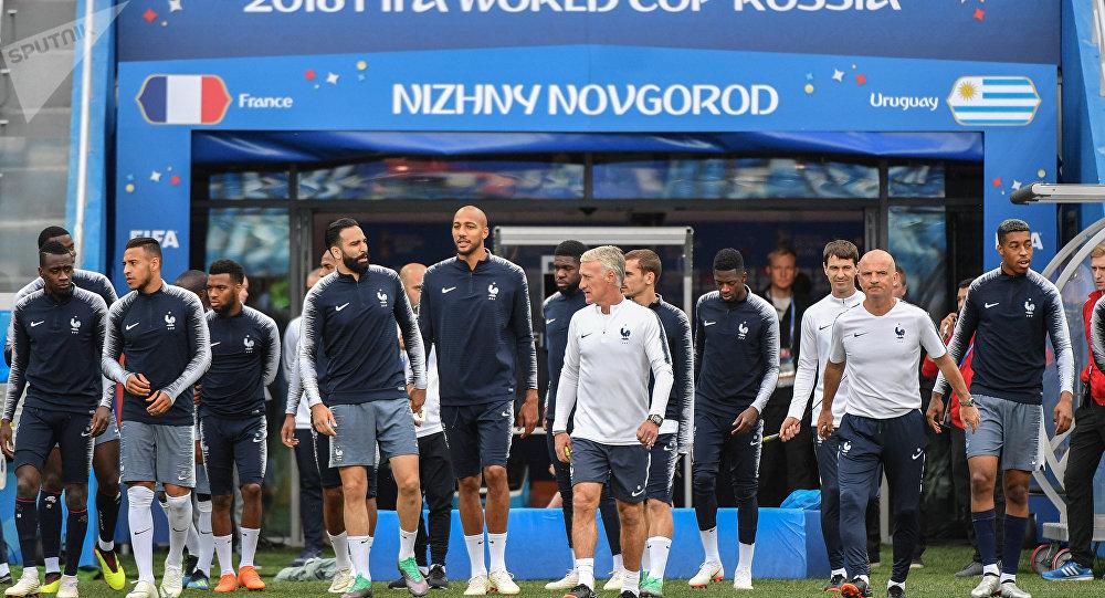 La selección de Francia