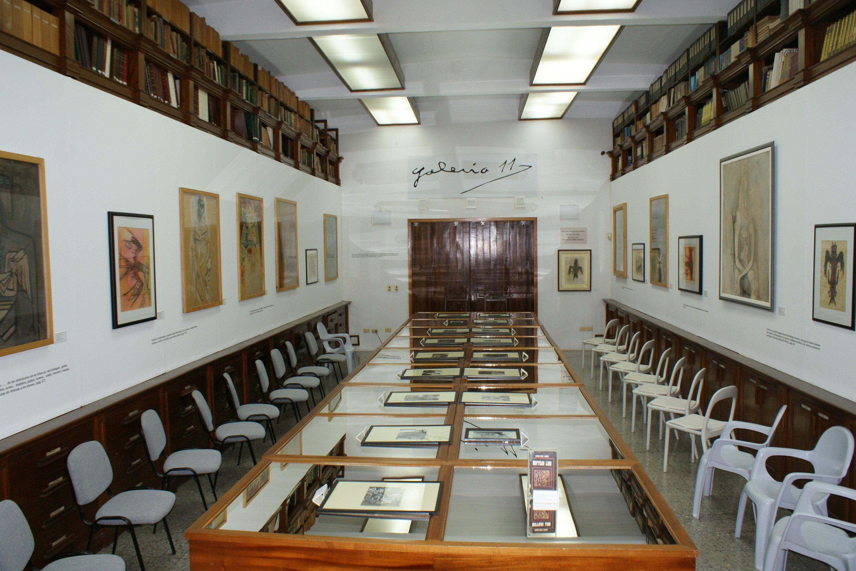 Galería 11 de la Fundación Núñez Jiménez en La Habana, aquí se exhibe la obra de este científico y explorador cubano