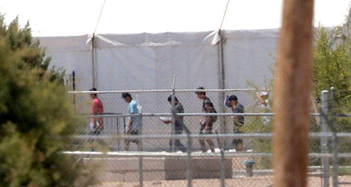Niños inmigrantes en EEUU