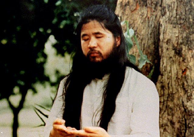 Shoko Asahara, el fundador de la secta Aum Shinrikyo