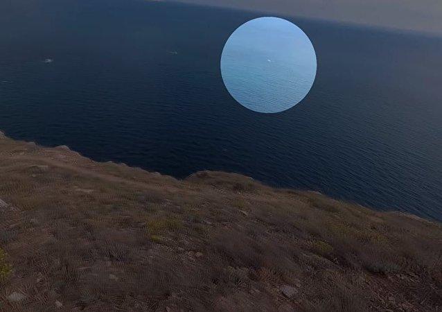 Crimea: ¿actividad extraterrestre tomada en vídeo?