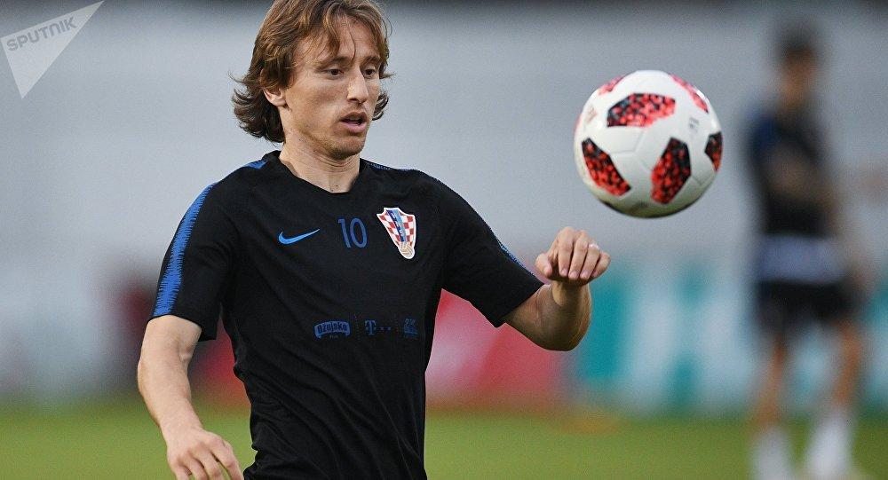 El mediocampista y capitán croata, Luka Modric