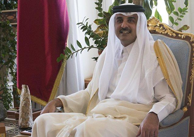Tamin ben Hamad Thani, emir de Catar