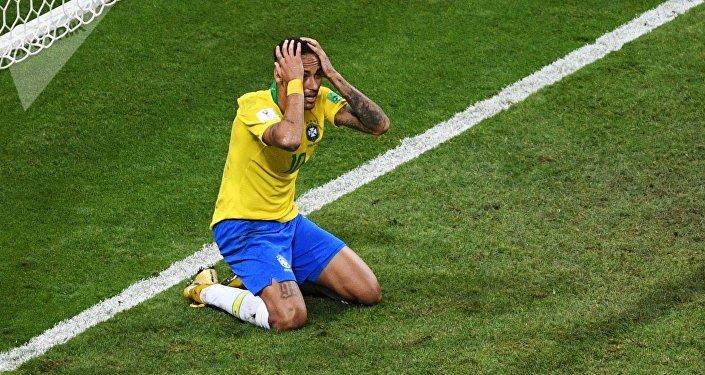 El futbolista brasileño Neymar